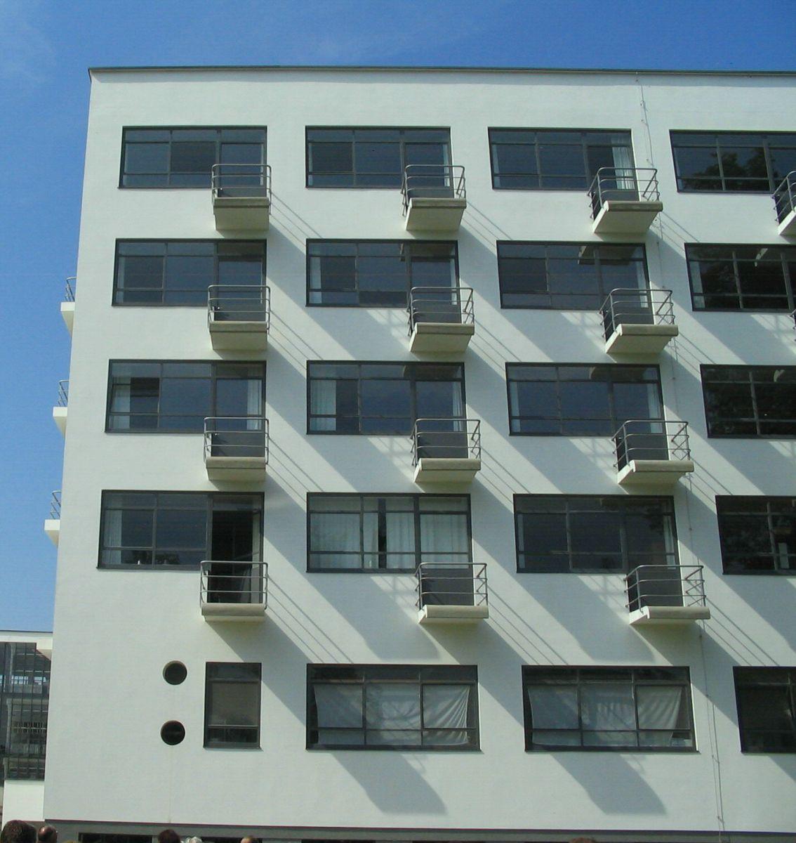 The Bauhaus Dormitory