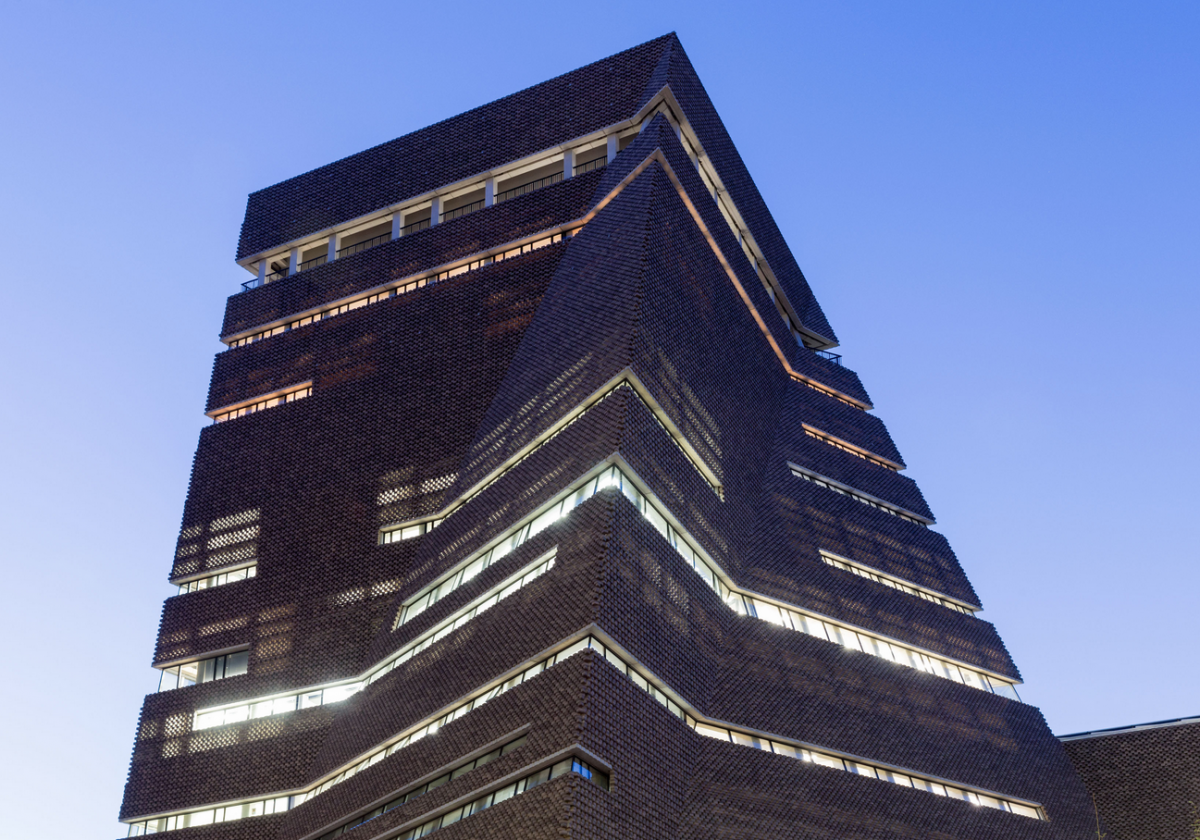 The Tate Modern Blavatnik Building in the UK