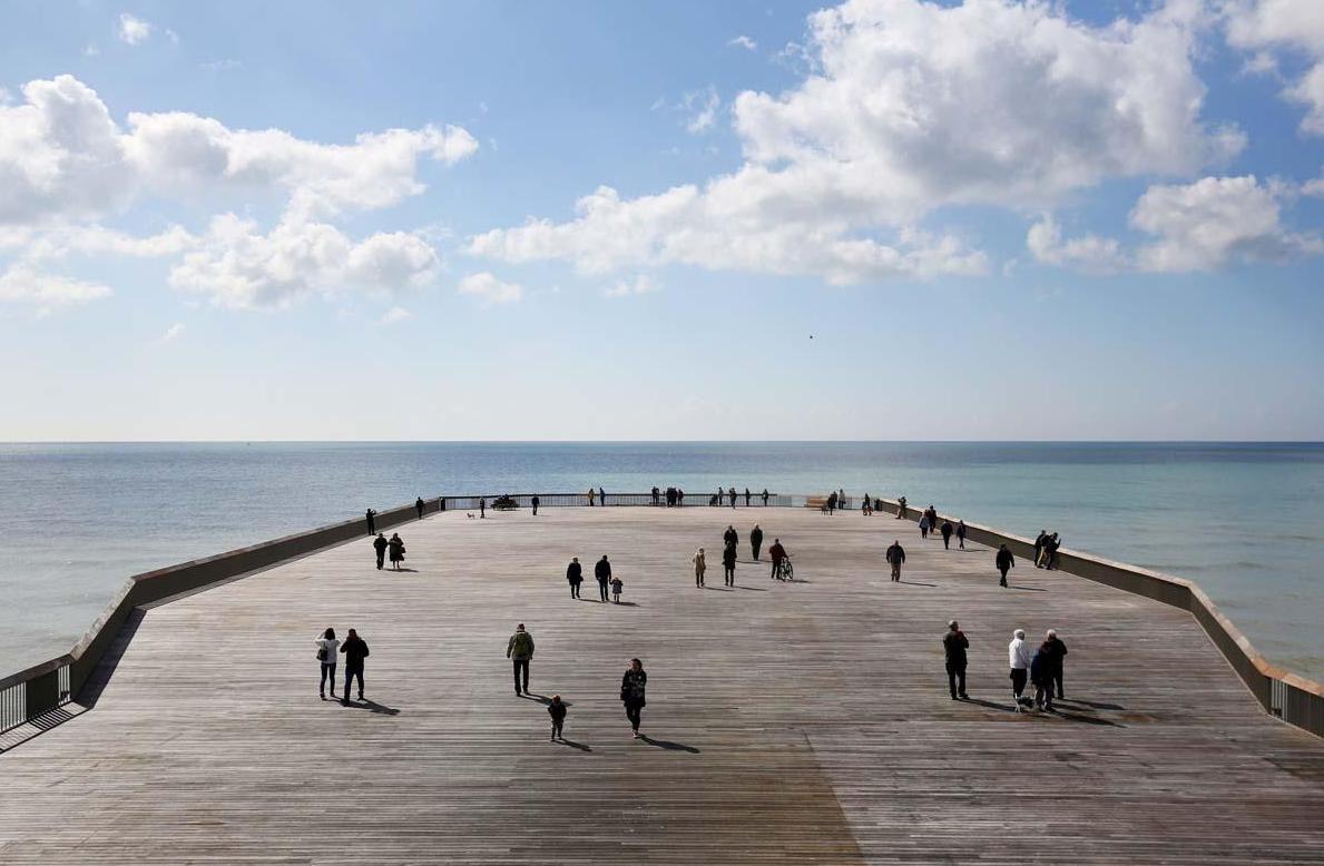 Hastings Pier, East Sussex in the UK