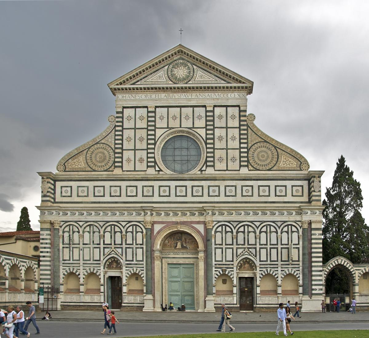 Santa Maria Novella Florence faade
