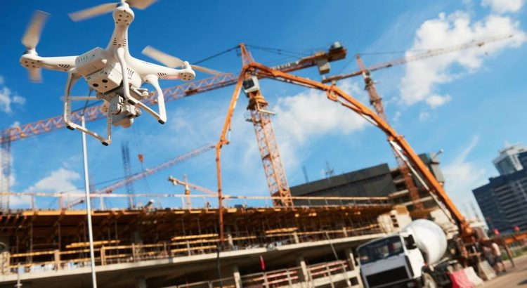 drones used on building sites